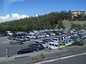 富士スバルライン駐車場